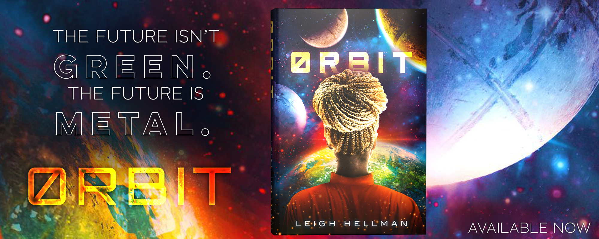 Orbit by Leigh Hellman, available now