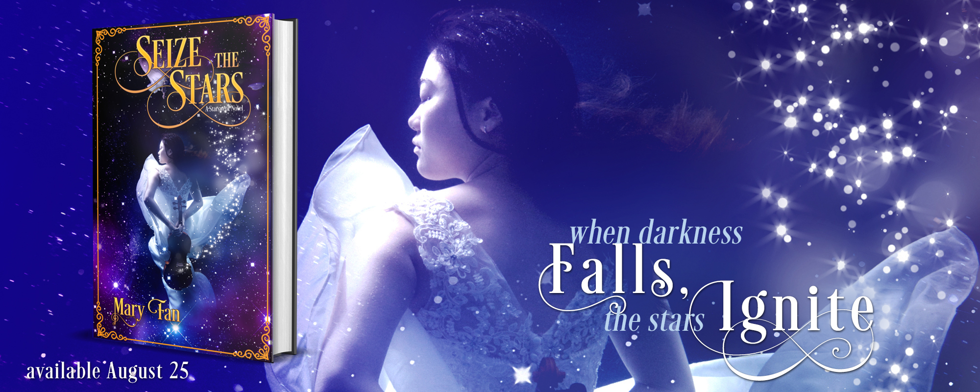 Seize the Stars by Mary Fan, coming soon