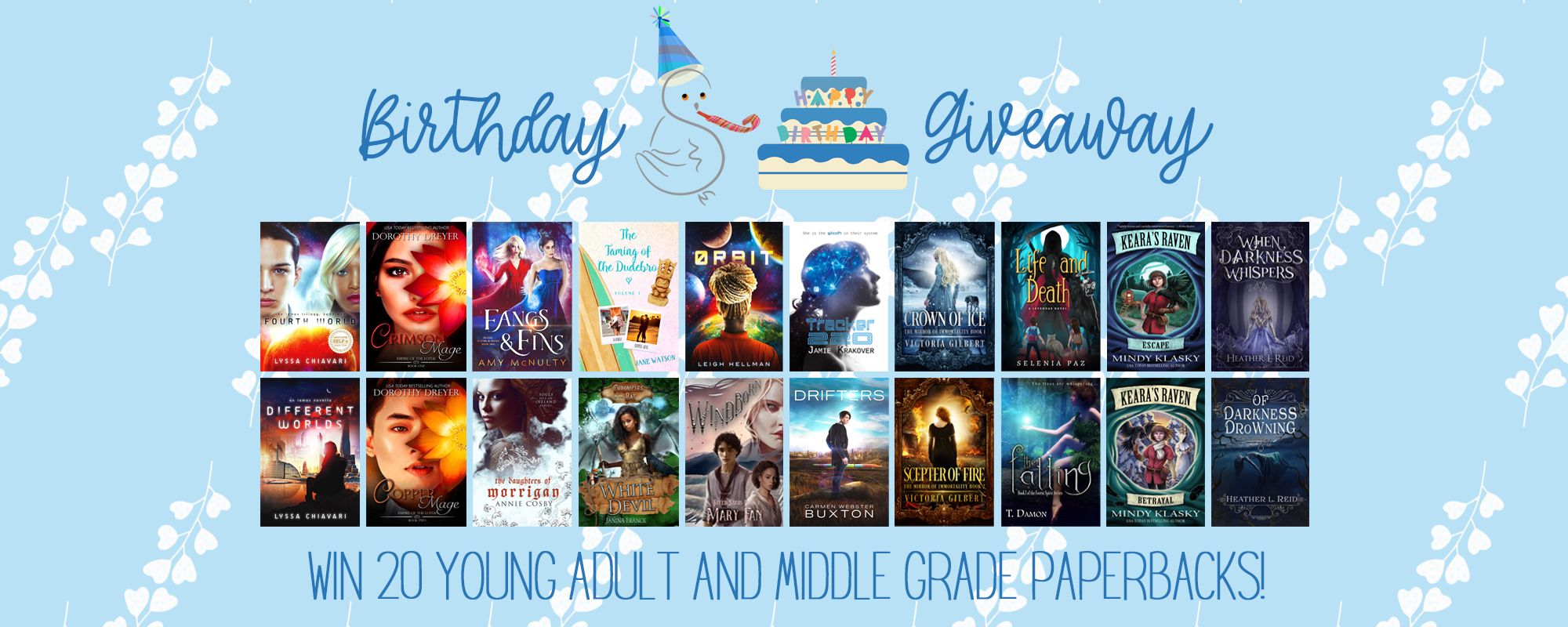 Enter our anniversary giveaway!