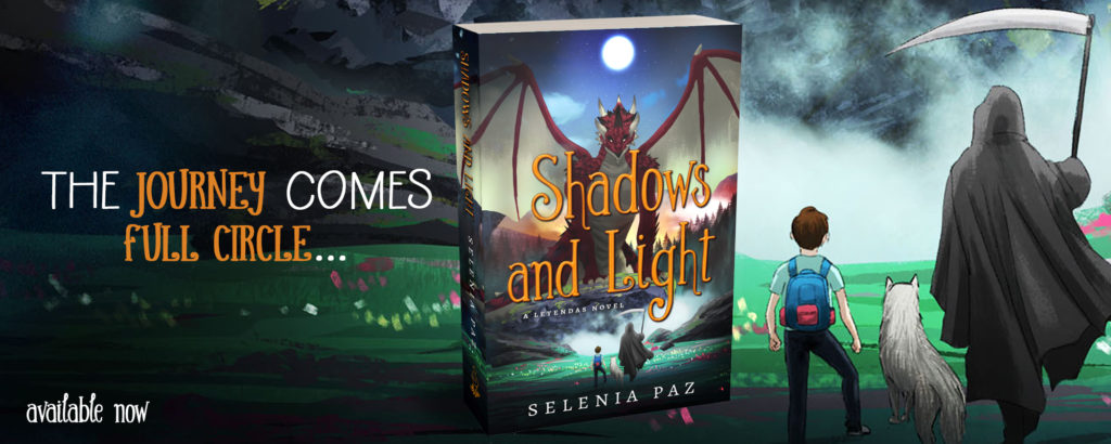 Shadows and Light by Selenia Paz, available now!