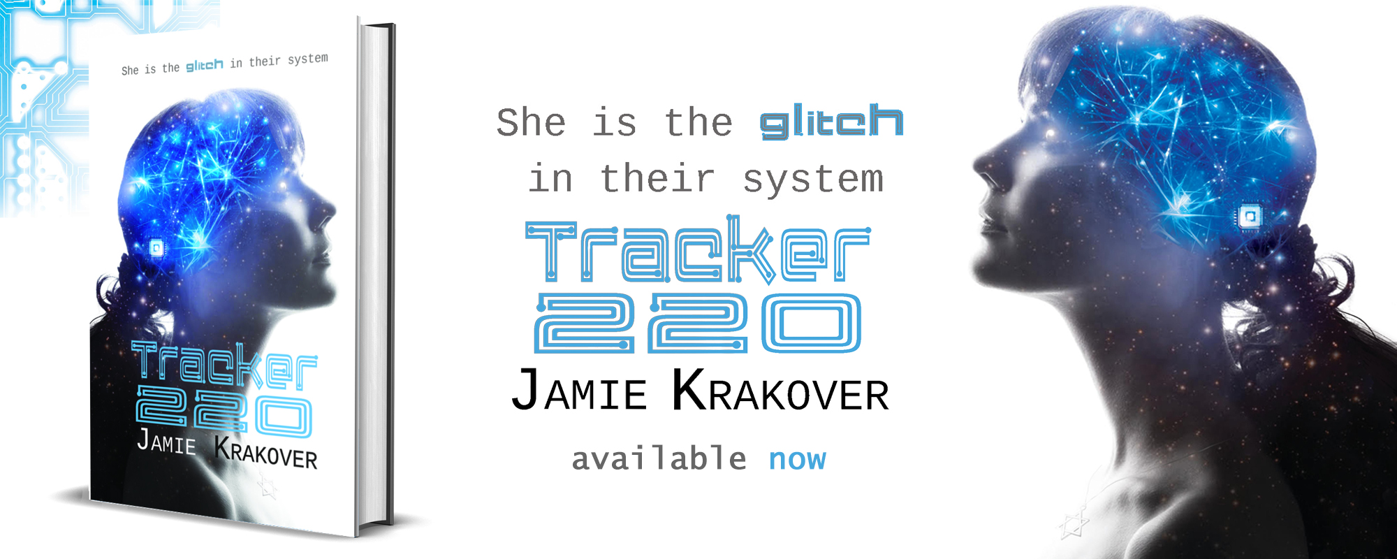 Tracker 220 by Jamie Krakover, available now!