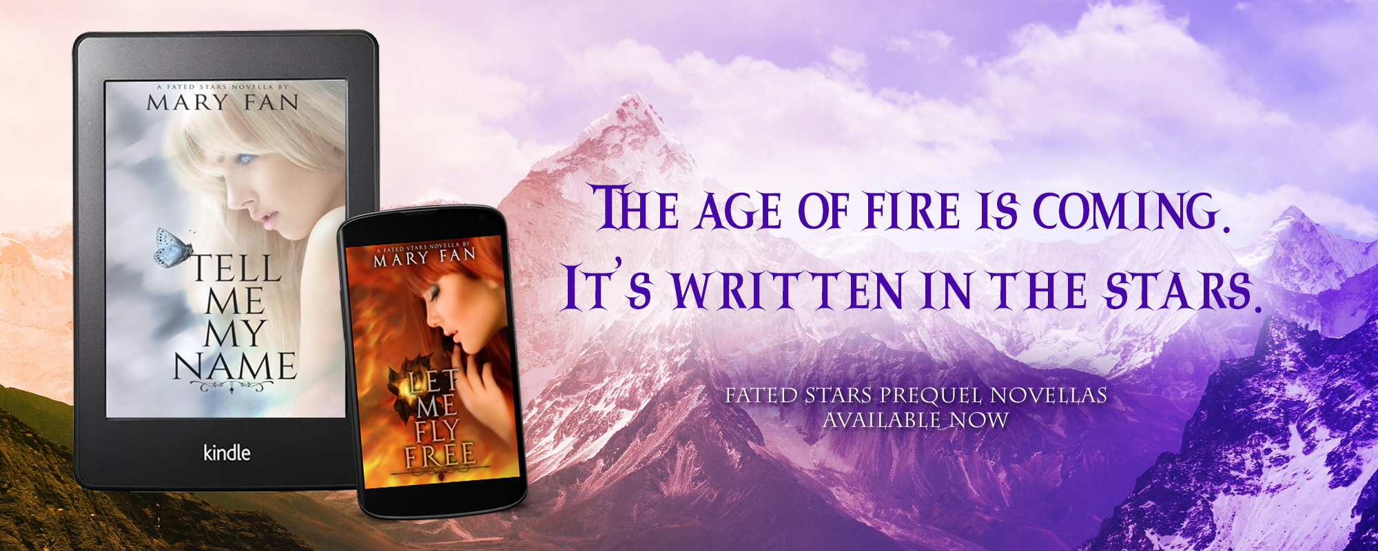 Fated Stars Prequel Novellas available now!