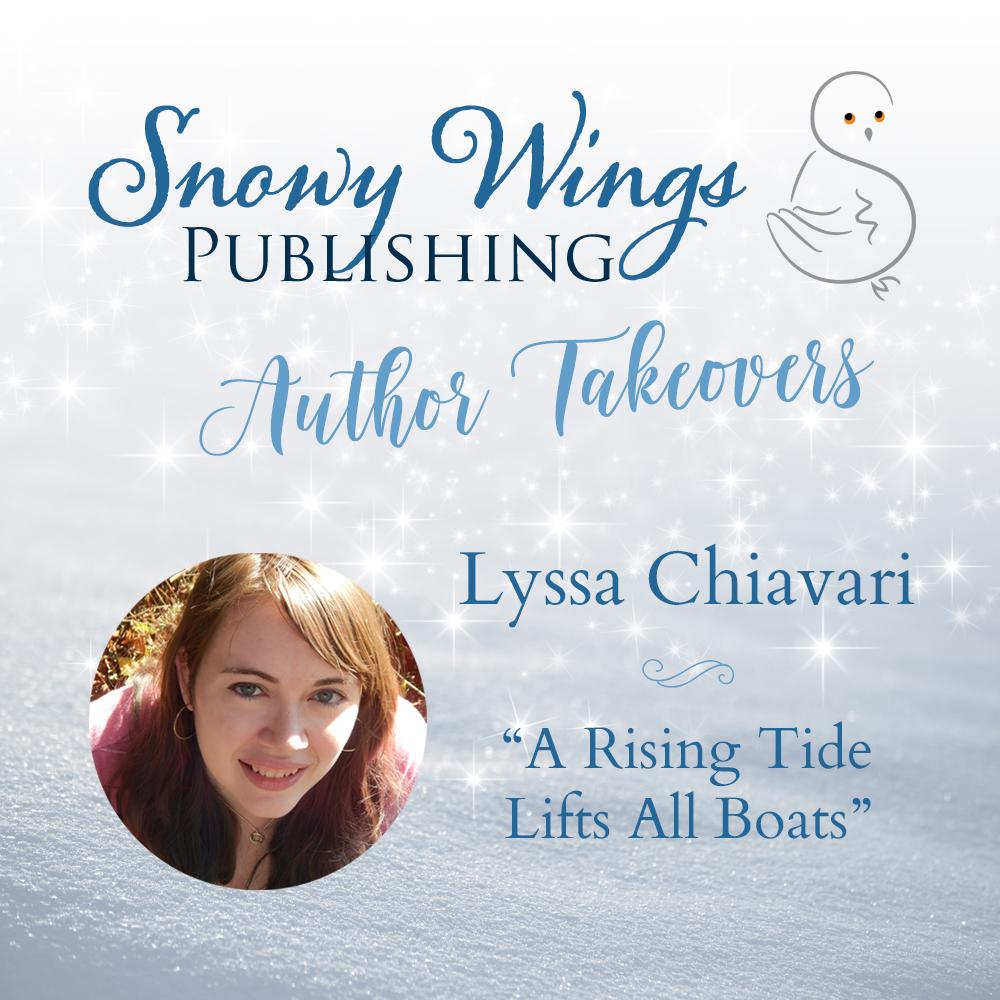 """A Rising Tide Lifts All Boats"" by Lyssa Chiavari"
