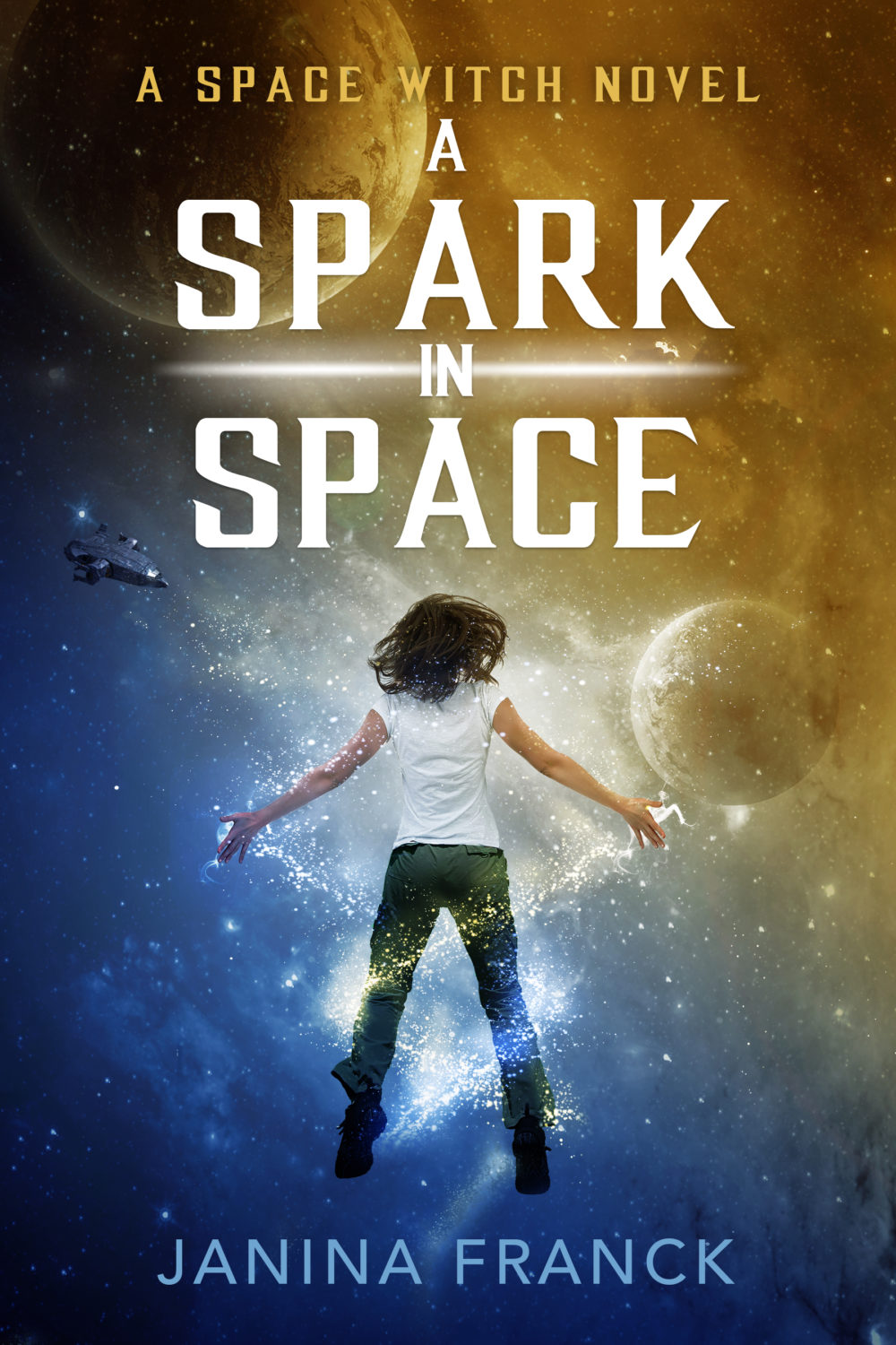 A Spark in Space by Janina Franck