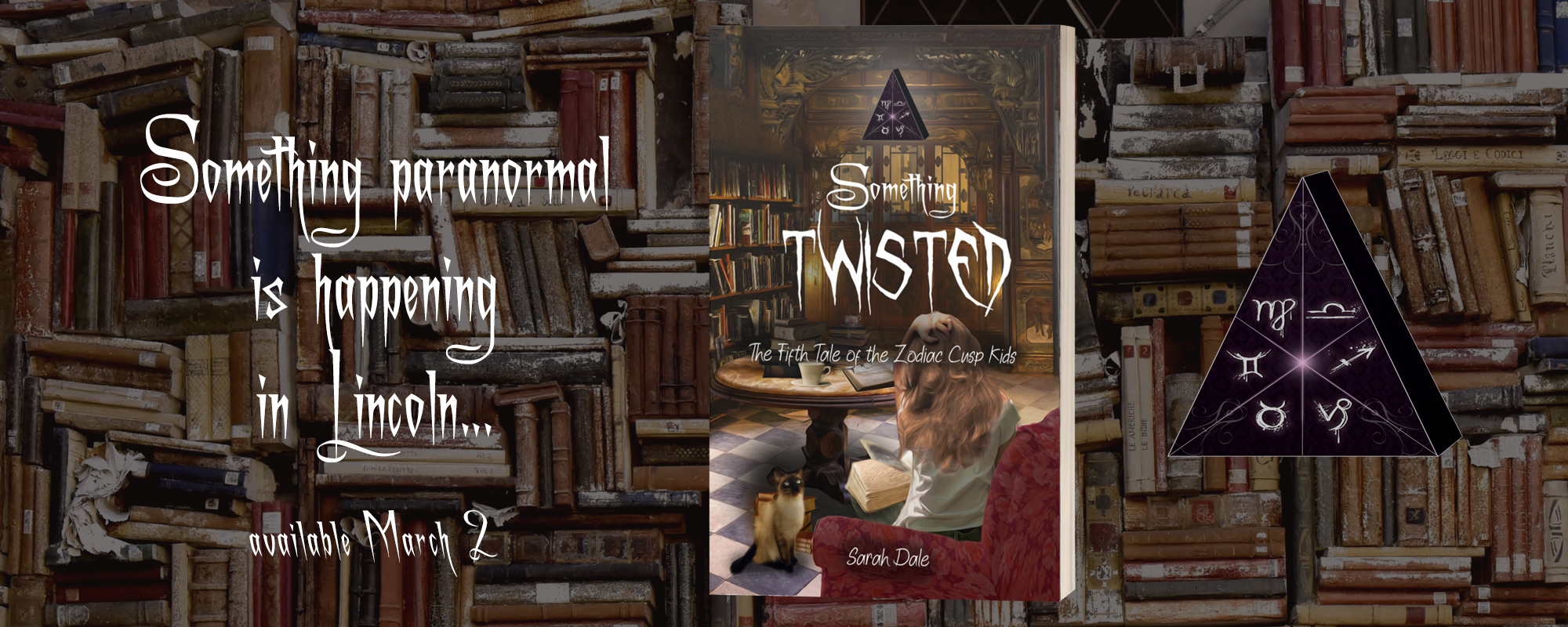 Something Twisted by Sarah Dale, coming soon