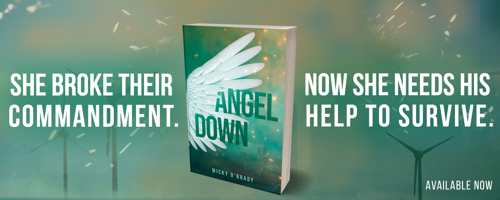 Angel Down by Micky O'Brady, available now