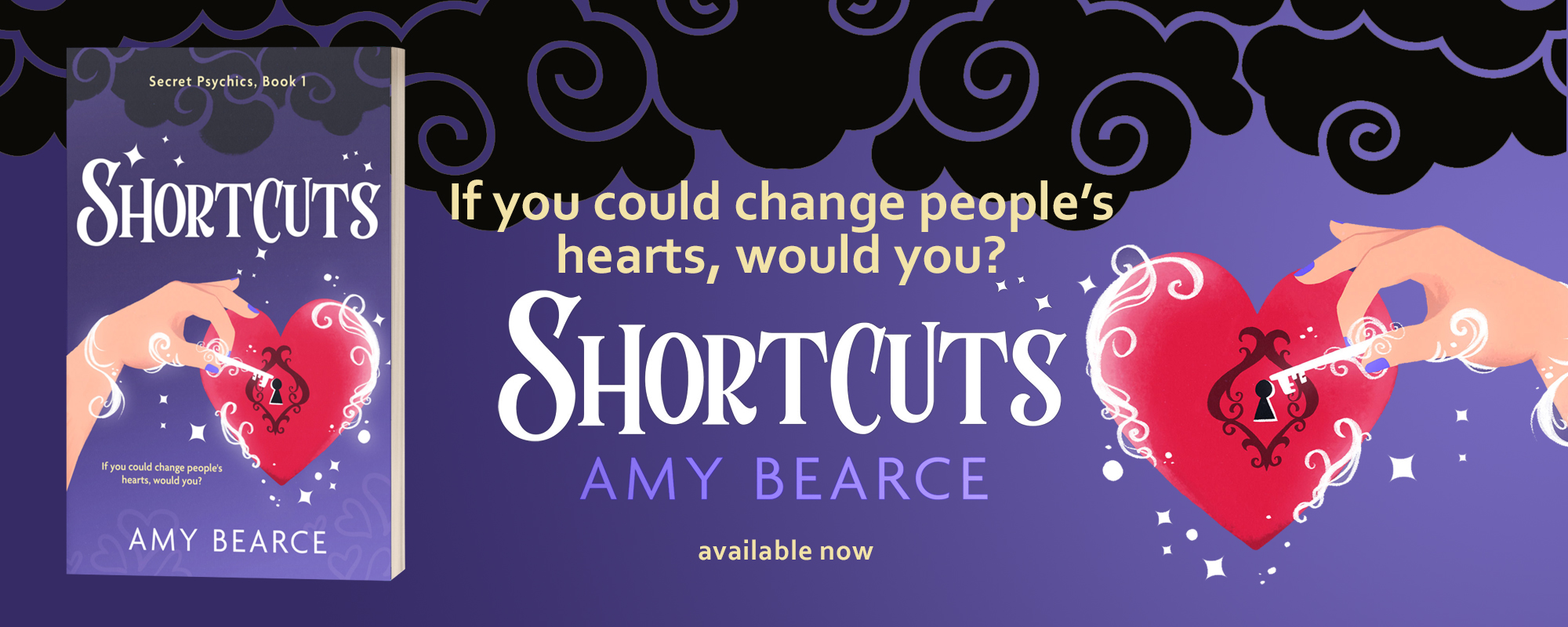 Shortcuts by Amy Bearce, available now