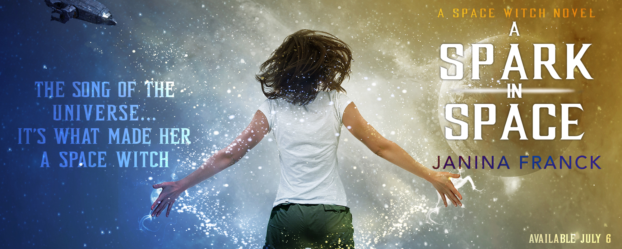 A Spark in Space by Janina Franck, coming soon