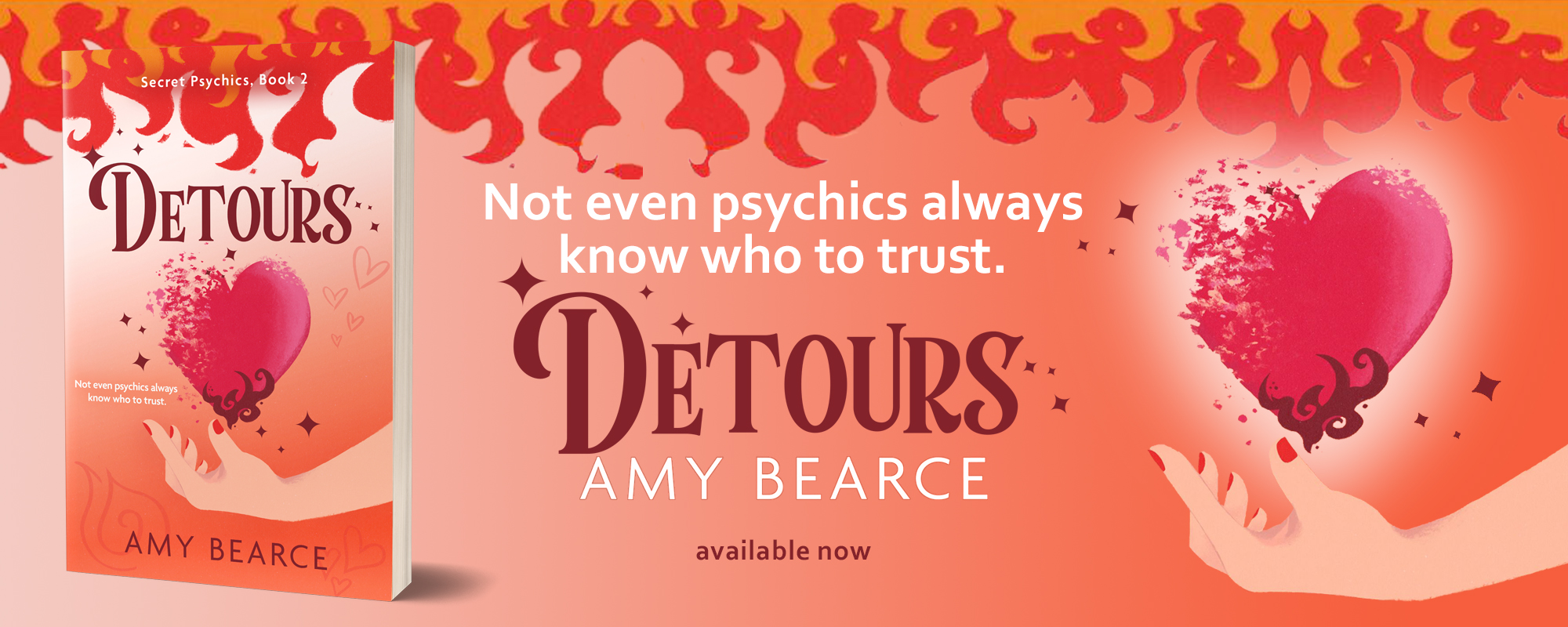 Detours by Amy Bearce, available now