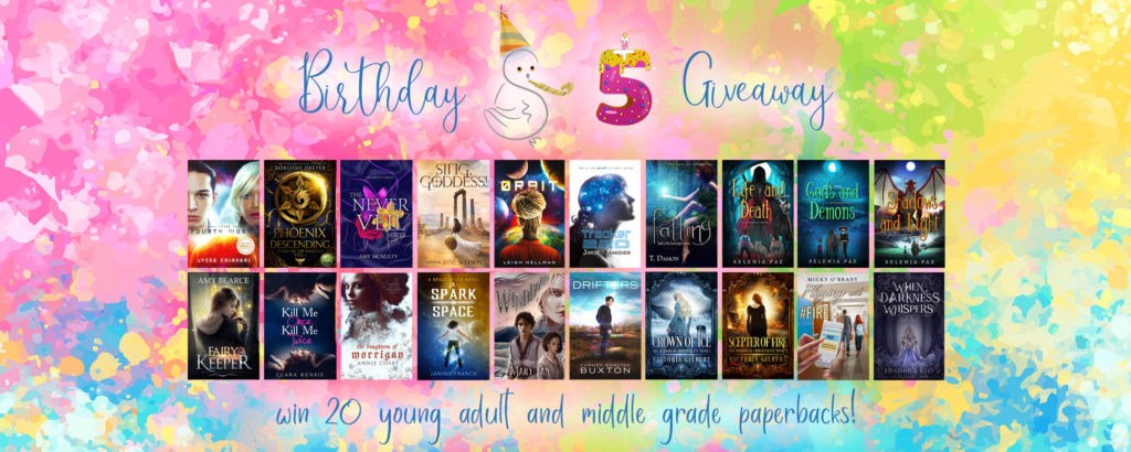 5th Anniversary Giveaway
